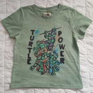 (5T) Teenage Mutant Ninja Turtles T shirt NWOT